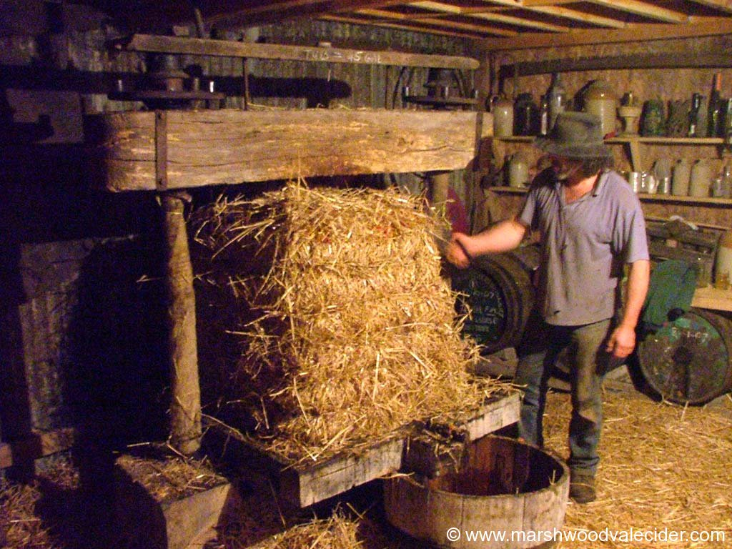 trimming the cider cheese
