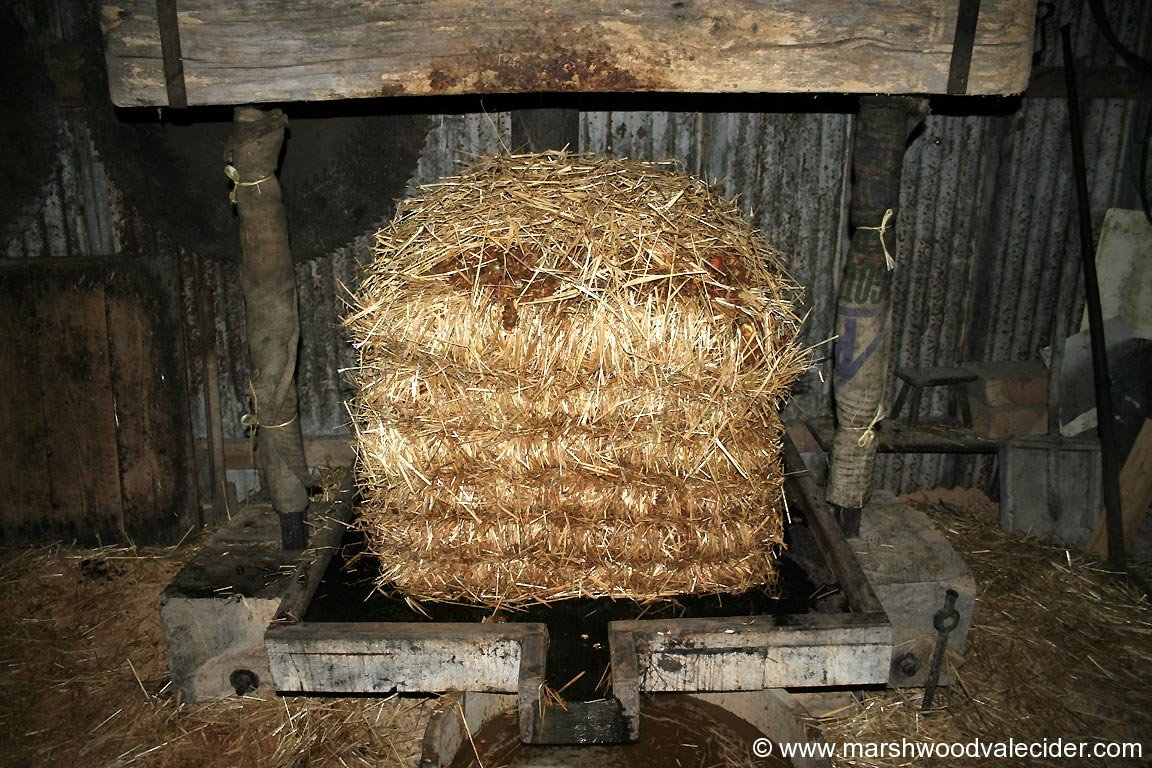 Straw built Cider Cheese